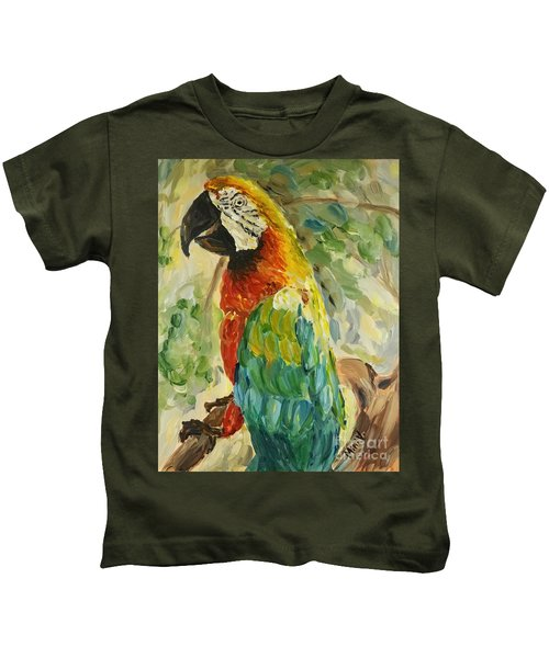 Happy Parrot Kids T-Shirt