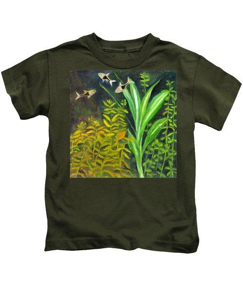 Harlequin Rasboras Kids T-Shirt