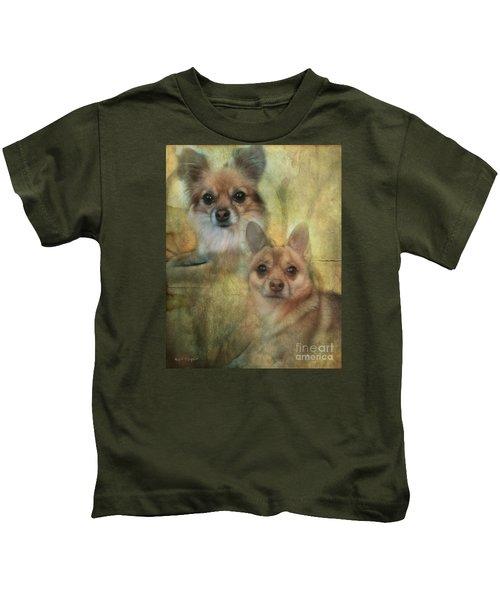 Harley Girl N Bear Kids T-Shirt