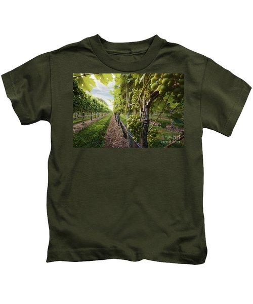 Harmony Vineyard Stony Brook New York Kids T-Shirt