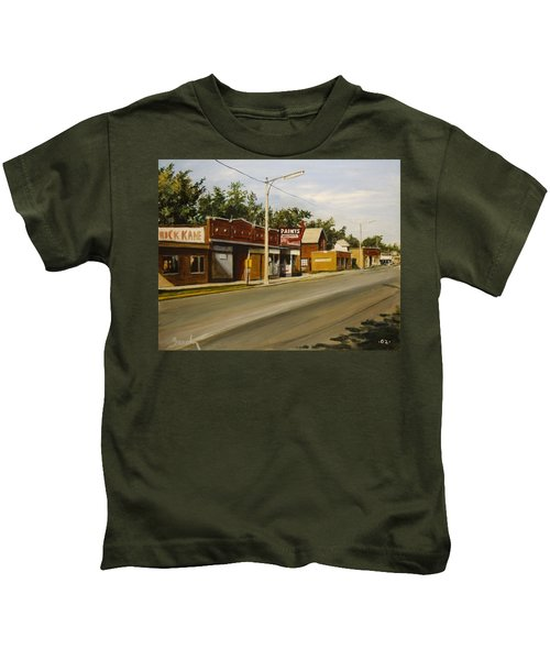 Harvey Paint Store Kids T-Shirt