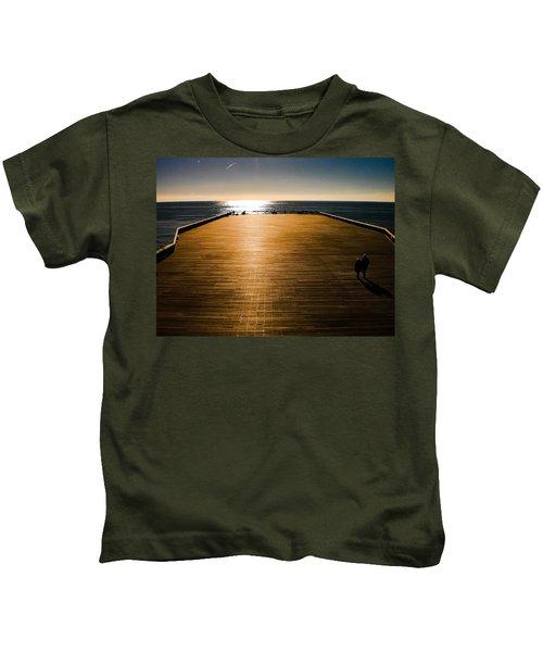 Hastings Pier, Hastings, Sussex, England Kids T-Shirt
