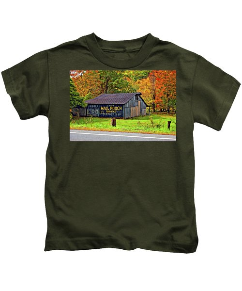 Have A Chaw Painted Kids T-Shirt
