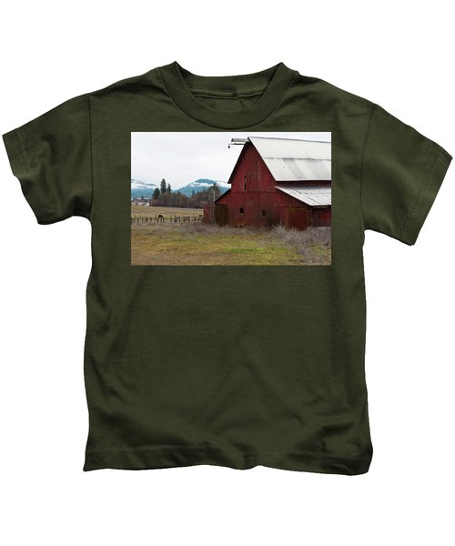 Hayfork Red Barn Kids T-Shirt