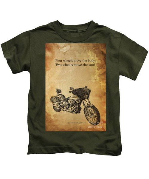 Hd Quote Kids T-Shirt