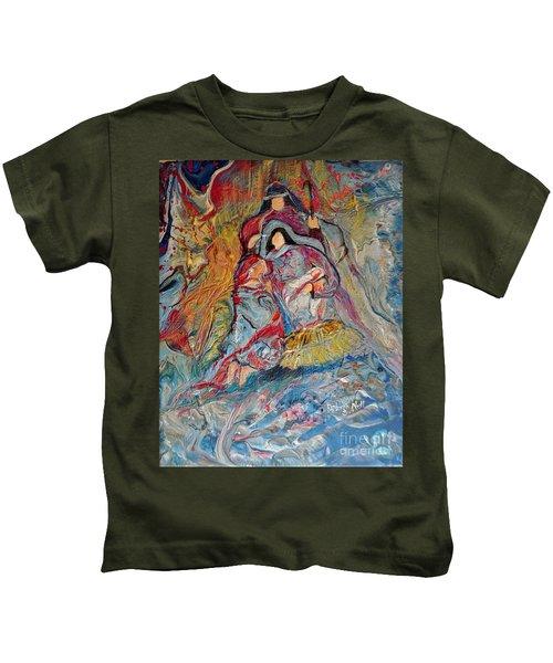 He Dwelt Among Us Kids T-Shirt