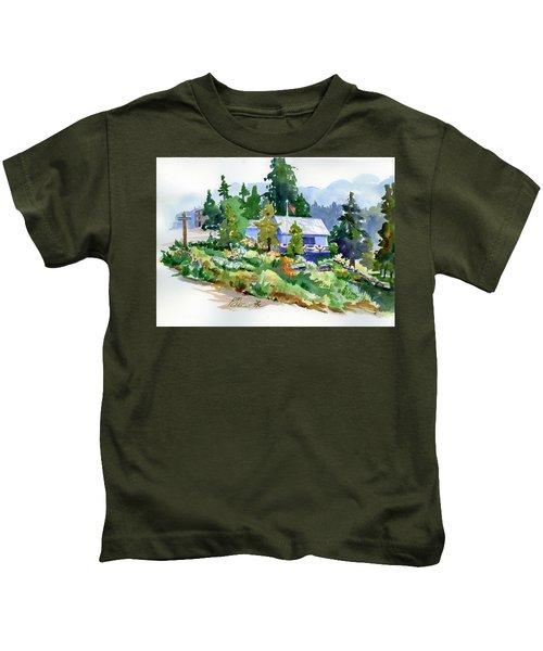 Hearse House Garden Kids T-Shirt