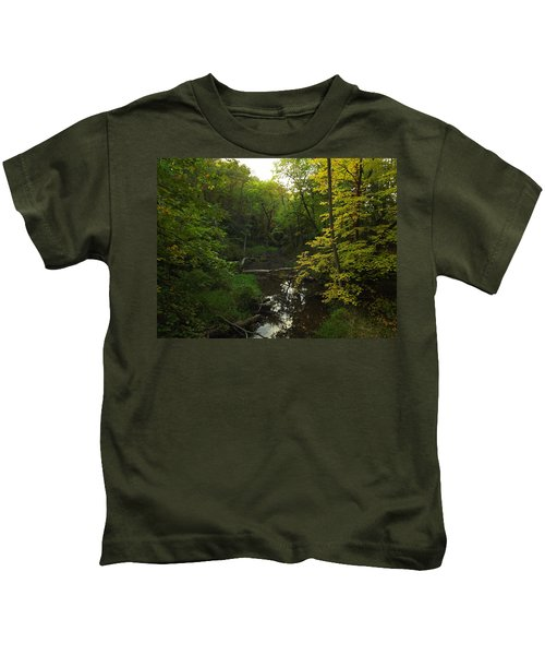 Heart Of The Woods Kids T-Shirt