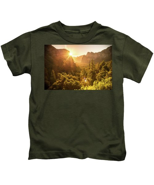 Heavenly Valley Kids T-Shirt