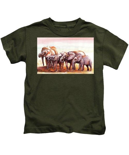Heavy Drinkers Kids T-Shirt
