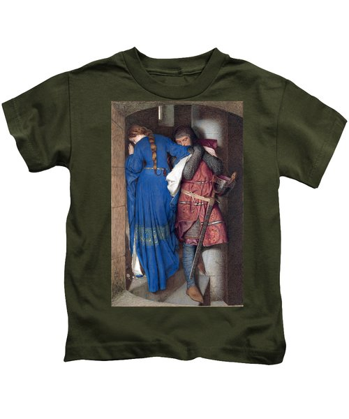Hellelil And Hildebrand Or The Meeting On The Turret Stairs Kids T-Shirt