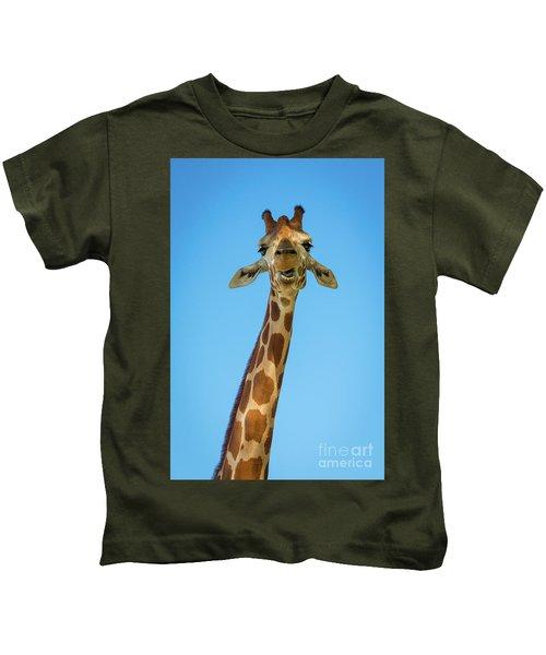 Hello Giraffe Kids T-Shirt