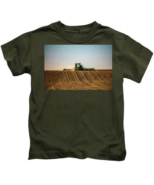 Herringbone Sowing Kids T-Shirt