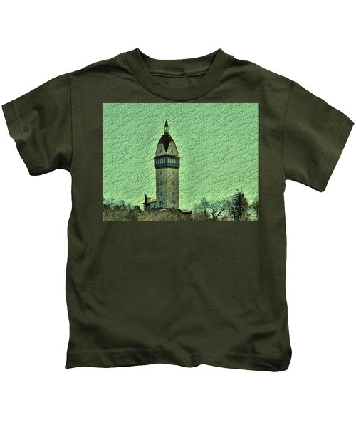 Heublein Tower Kids T-Shirt