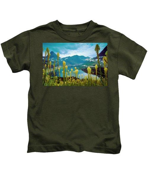 Hidden Lake, Gnp Kids T-Shirt