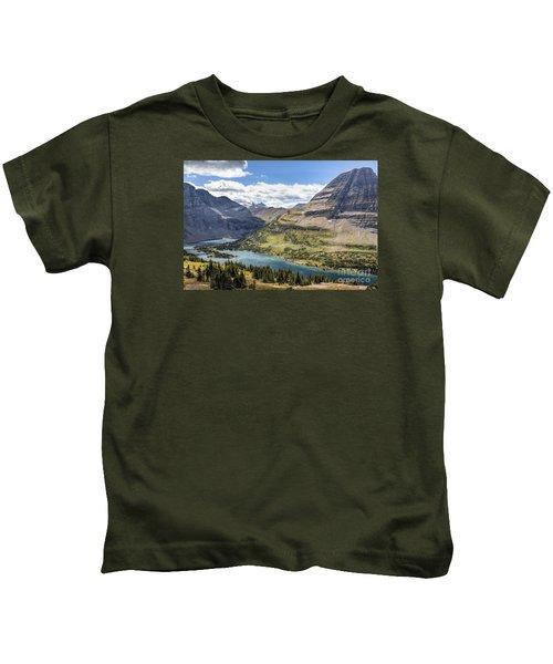 Hidden Lake Overlook Kids T-Shirt