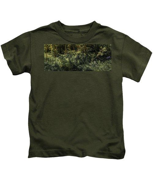 Hidden Wildflowers Kids T-Shirt