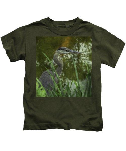 Hiding In The Grass Kids T-Shirt