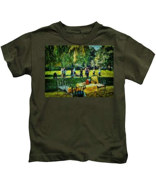 High Tea Tai Chi Kids T-Shirt