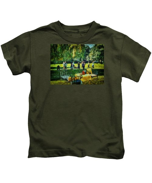 High Tea Tai Chi Kids T-Shirt