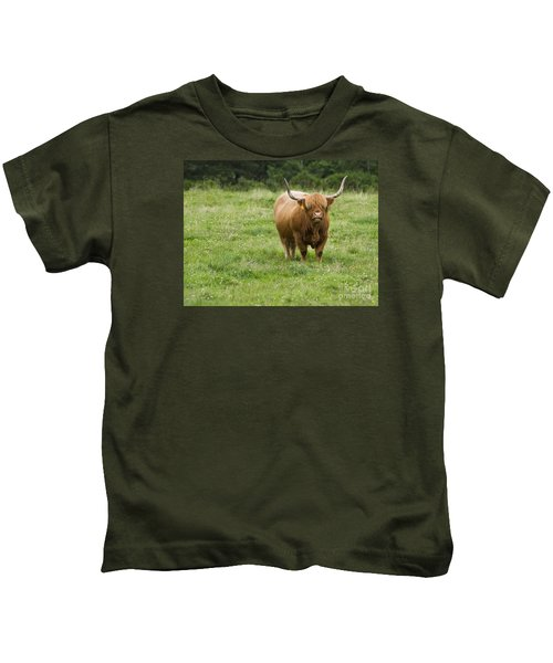 Highland Cattle Kids T-Shirt
