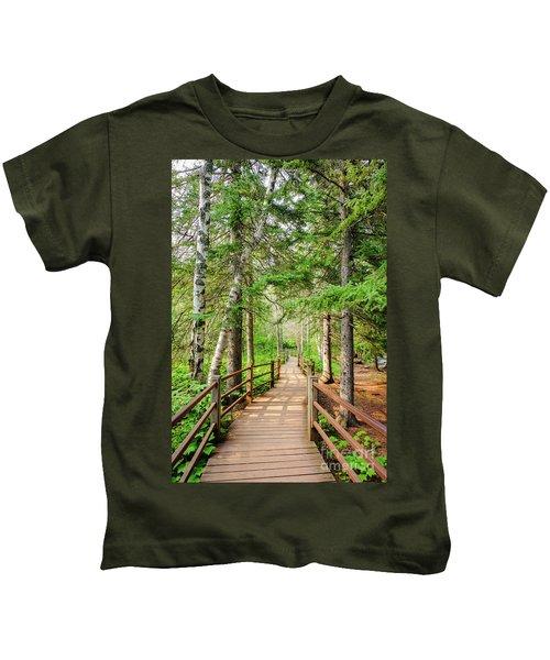 Hiking Trail Kids T-Shirt