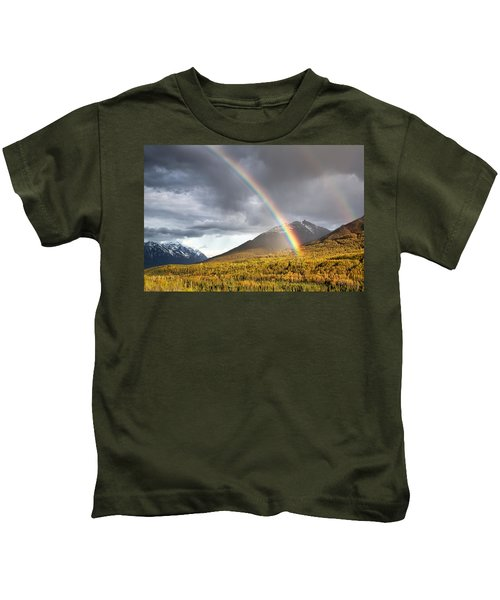 Hiland Mountain Kids T-Shirt