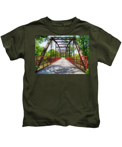 Hinkson Creek Bridge Kids T-Shirt