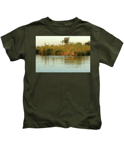 Hippos, South Africa Kids T-Shirt