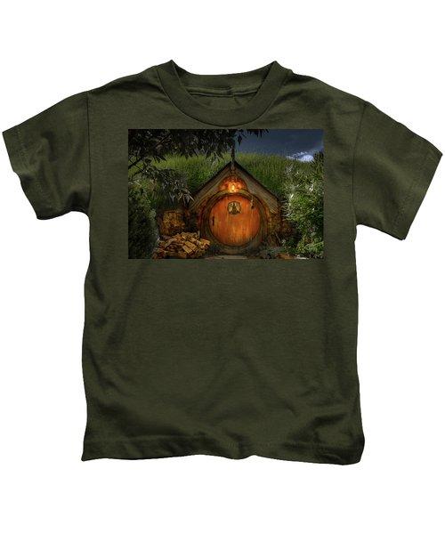 Hobbit Dwelling Kids T-Shirt