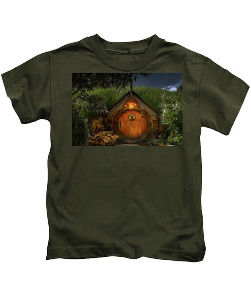 Hobbit Dwelling Kids T-Shirt