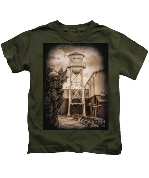 Hollywood Water Tower 2 Kids T-Shirt