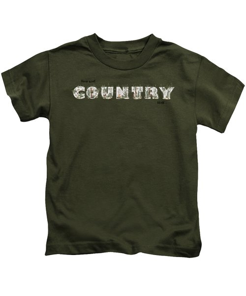 Home Sweet Country Home Kids T-Shirt