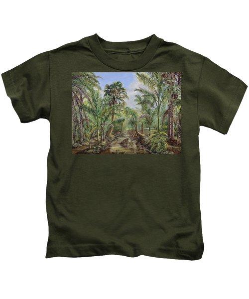 Homestead Tree Farm Kids T-Shirt