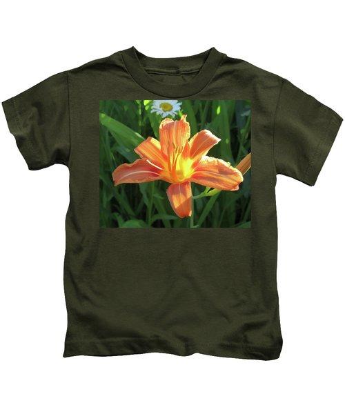 Hooray Summers Here Kids T-Shirt