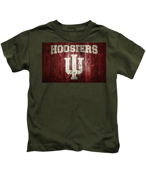 Hoosiers Barn Door Kids T-Shirt