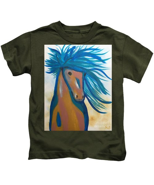 Horse Freedom Kids T-Shirt