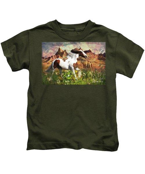 Horse Medicine 2015 Kids T-Shirt