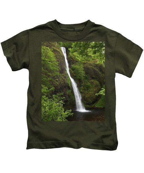 Horsetail Falls Kids T-Shirt