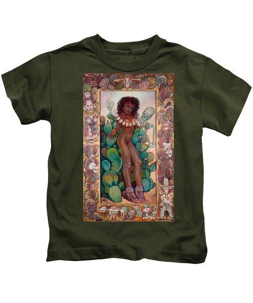 Hot Cactus Kids T-Shirt