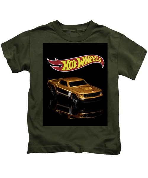 Hot Wheels '69 Ford Mustang 2 Kids T-Shirt