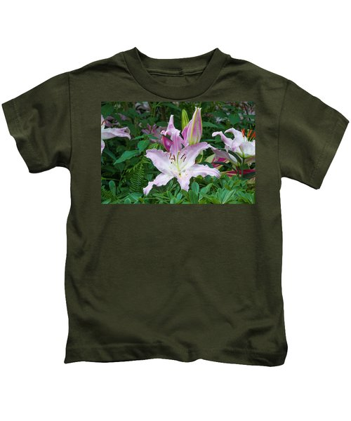 Hothouse Flowers - Longwood Gardens Kids T-Shirt