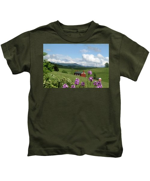 House On Hill In Lexington Kids T-Shirt