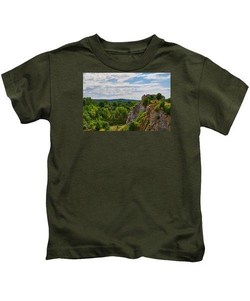 Hug A Rock Kids T-Shirt