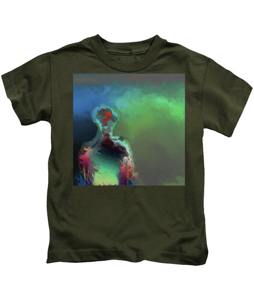 Humanoid In The Fifth Dimension Kids T-Shirt