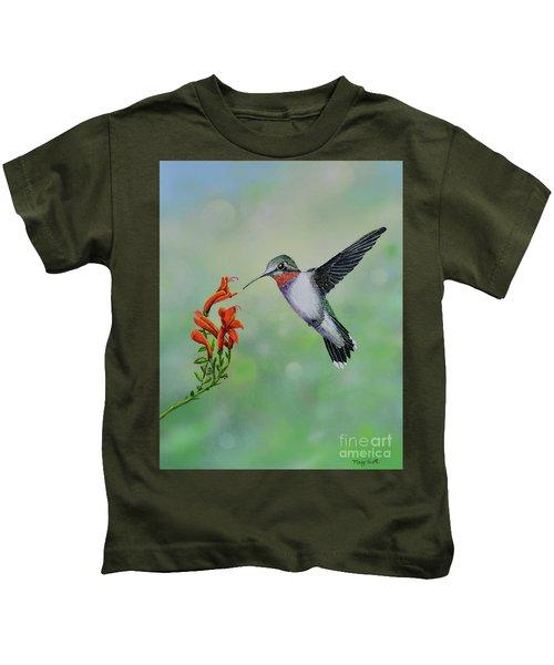 Hummingbird Beauty Kids T-Shirt