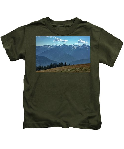 Hurricane Ridge Kids T-Shirt