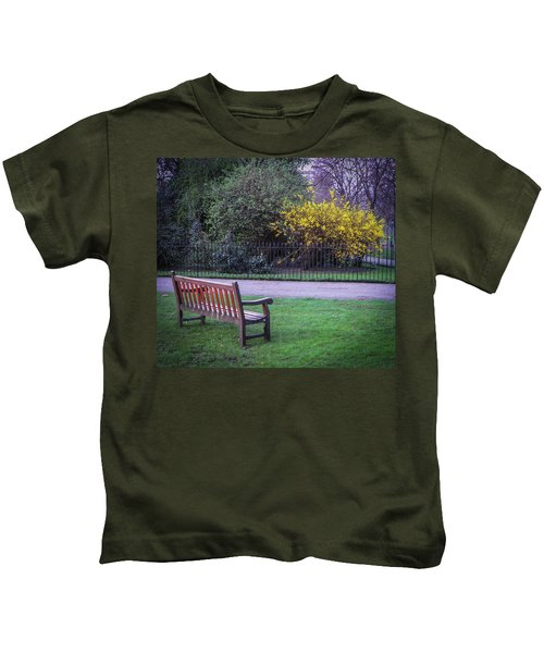 Hyde Park Bench - London Kids T-Shirt