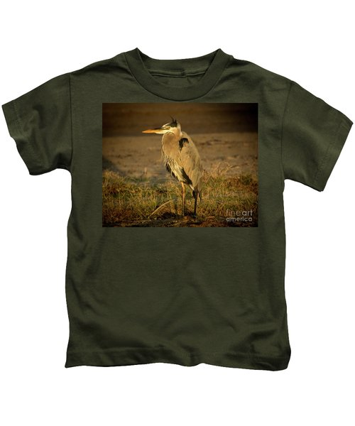 I Know They Are Coming Wildlife Art By Kaylyn Franks Kids T-Shirt