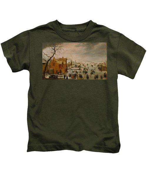 Ice Landscape Kids T-Shirt